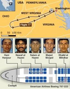 Террористы рейса 77 American Airlines